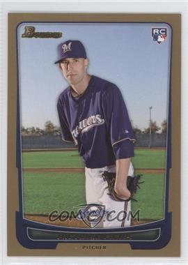 2012 Bowman Gold Border #197 - Michael Fiers
