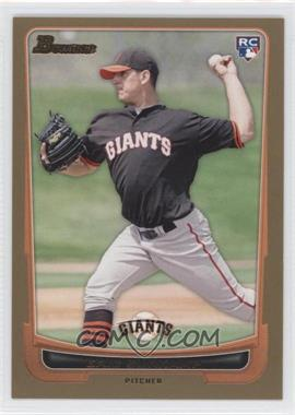 2012 Bowman Gold Border #200 - Eric Surkamp