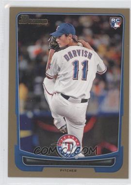 2012 Bowman Gold Border #209 - Yu Darvish