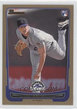 2012 Bowman Gold Border #212 - Drew Pomeranz