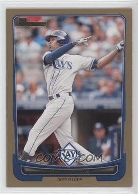 2012 Bowman Gold Border #41 - B.J. Upton