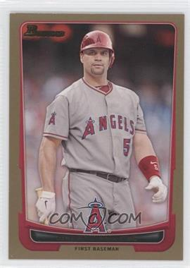 2012 Bowman Gold Border #49 - Albert Pujols