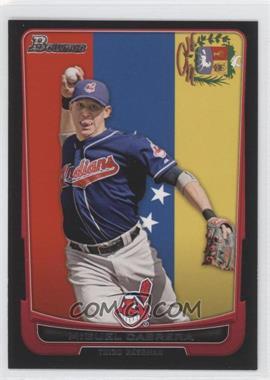 2012 Bowman International #101 - Miguel Cabrera (Uncorrected Error: Asdrubal Cabrera pictured)