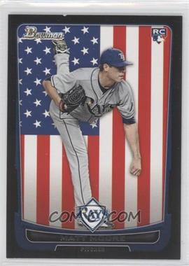 2012 Bowman International #211 - Matt Moore