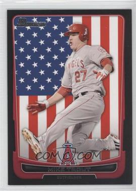 2012 Bowman International #34 - Mike Trout