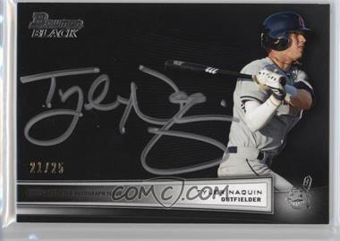 2012 Bowman Multi-Product Insert Bowman Black Collection [Autographed] #BBC-TN - Tyler Naquin /25