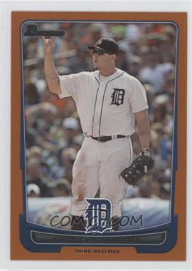 2012 Bowman Orange Border #101 - Miguel Cabrera /250