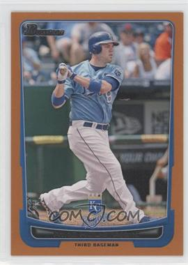 2012 Bowman Orange Border #103 - Mike Moustakas /250