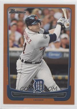 2012 Bowman Orange Border #166 - Victor Martinez /250