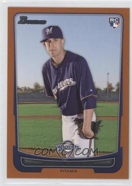 2012 Bowman Orange Border #197 - Michael Fiers /250