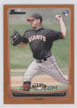 2012 Bowman Orange Border #200 - Eric Surkamp /250