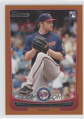 2012 Bowman Orange Border #208 - Liam Hendriks /250