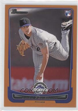 2012 Bowman Orange Border #212 - Drew Pomeranz /250