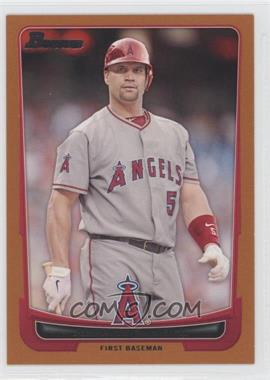 2012 Bowman Orange Border #49 - Albert Pujols /250