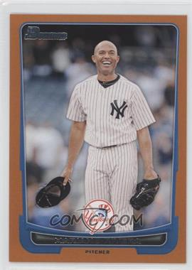 2012 Bowman Orange Border #66 - Mariano Rivera /250