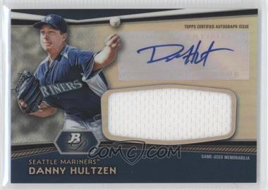2012 Bowman Platinum - Autographed Jumbo Relics #AJR-DH - Danny Hultzen