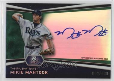 2012 Bowman Platinum - Autographed Prospects - Green Refractor #AP-MM - Mikie Mahtook /399