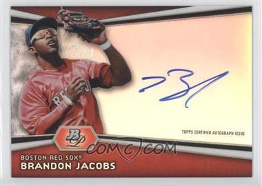 2012 Bowman Platinum - Autographed Prospects #AP-BJ - Brandon Jacobs