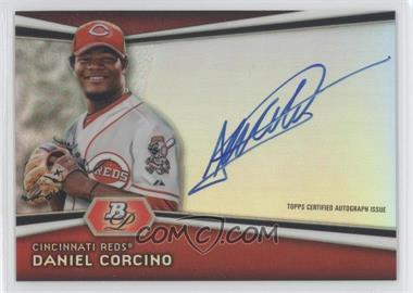 2012 Bowman Platinum - Autographed Prospects #AP-DC - Daniel Corcino
