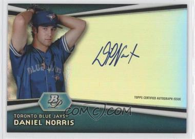 2012 Bowman Platinum - Autographed Prospects #AP-DN - Daniel Norris