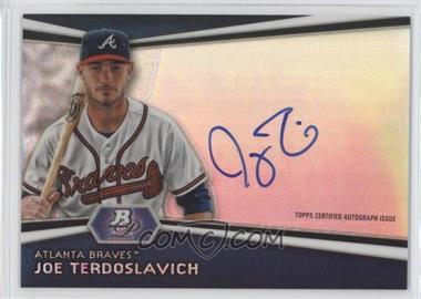 2012 Bowman Platinum - Autographed Prospects #AP-JT - Joey Terdoslavich
