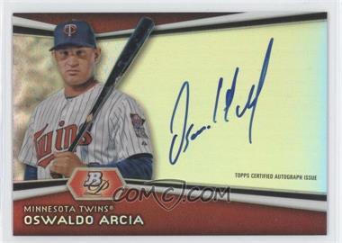 2012 Bowman Platinum - Autographed Prospects #AP-OA - Oswaldo Arcia