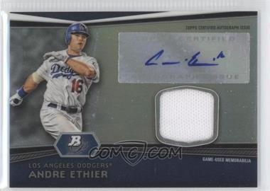 2012 Bowman Platinum - Autographed Relic #AR-AE - Andre Ethier