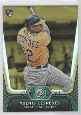 2012 Bowman Platinum - [Base] - Gold #21 - Yoenis Cespedes