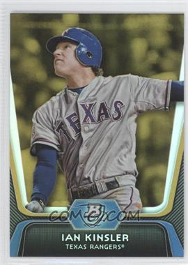 2012 Bowman Platinum - [Base] - Gold #38 - Ian Kinsler