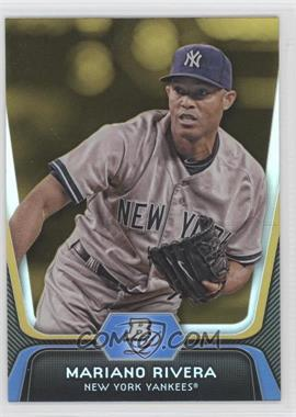 2012 Bowman Platinum - [Base] - Gold #45 - Mariano Rivera