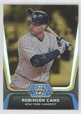2012 Bowman Platinum - [Base] - Gold #49 - Robinson Cano