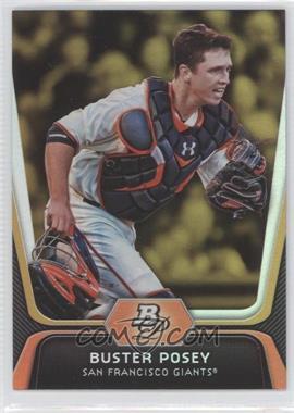 2012 Bowman Platinum - [Base] - Gold #57 - Buster Posey