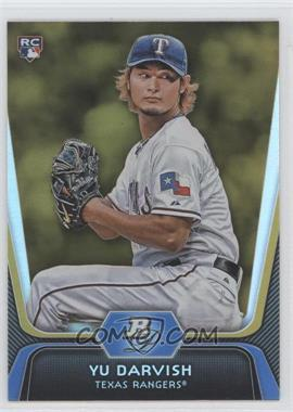 2012 Bowman Platinum - [Base] - Gold #9 - Yu Darvish