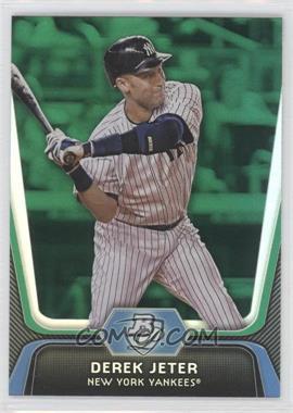 2012 Bowman Platinum - [Base] - Green #14 - Derek Jeter