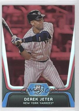 2012 Bowman Platinum - [Base] - Red #14 - Derek Jeter