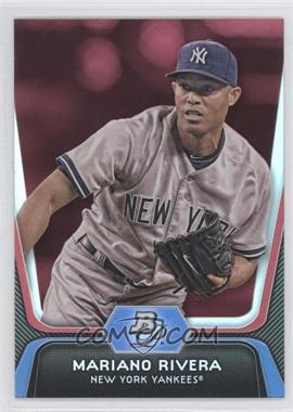 2012 Bowman Platinum - [Base] - Red #45 - Mariano Rivera