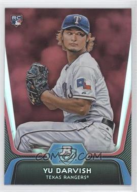 2012 Bowman Platinum - [Base] - Red #9 - Yu Darvish