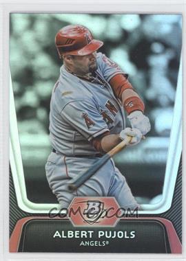 2012 Bowman Platinum - [Base] #68 - Albert Pujols