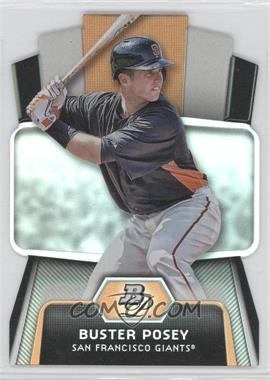 2012 Bowman Platinum - Cutting Edge Stars Die-Cut #CES-BP - Buster Posey