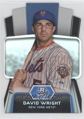 2012 Bowman Platinum - Cutting Edge Stars Die-Cut #CES-DW - David Wright