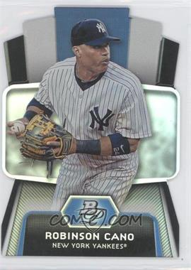 2012 Bowman Platinum - Cutting Edge Stars Die-Cut #CES-RC - Robinson Cano