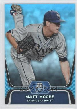 2012 Bowman Platinum - National Convention Wrapper Redemption [Base] - Platinum Blue #99 - Matt Moore /499