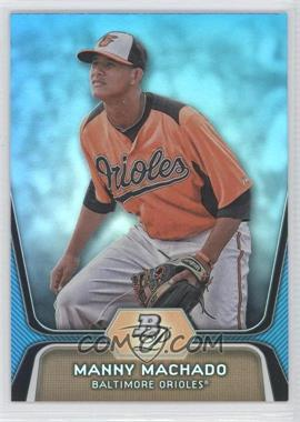 2012 Bowman Platinum - National Convention Wrapper Redemption Prospects - Platinum Blue #BPP23 - Manny Machado /499