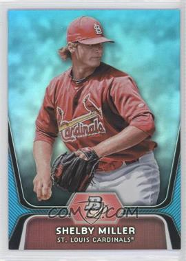 2012 Bowman Platinum - National Convention Wrapper Redemption Prospects - Platinum Blue #BPP27 - Shelby Miller /499