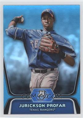 2012 Bowman Platinum - National Convention Wrapper Redemption Prospects - Platinum Blue #BPP35 - Jurickson Profar /499