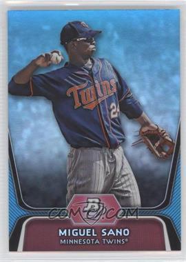 2012 Bowman Platinum - National Convention Wrapper Redemption Prospects - Platinum Blue #BPP39 - Miguel Sano /499