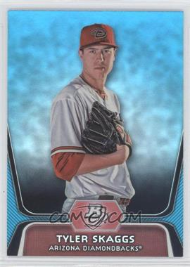 2012 Bowman Platinum - National Convention Wrapper Redemption Prospects - Platinum Blue #BPP42 - Tyler Skaggs /499