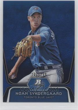 2012 Bowman Platinum - Prospects - Blue Refractor #BPP44 - Noah Syndergaard /199