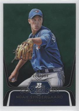 2012 Bowman Platinum - Prospects - Green Refractor #BPP44 - Noah Syndergaard /399