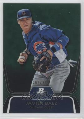 2012 Bowman Platinum - Prospects - Green Refractor #BPP85 - Javier Baez /399